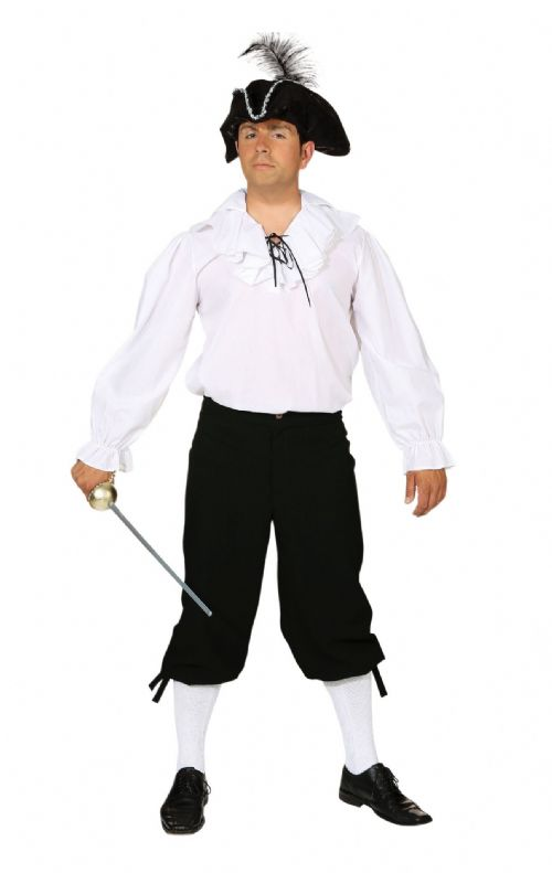 Mens Breeches Male Pirates Trousers Fancy Dress Outfit